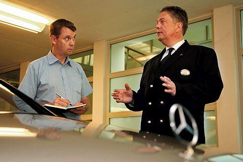 """Wagenmeister Menck urteilt: """"Ich würde die S-Klasse nehmen."""""""