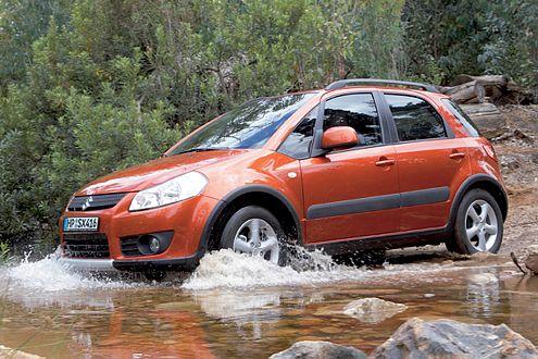 Rollt ab 2009 auch in Russland vom Band: der Suzuki SX4.