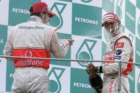 Stress bei McLaren-Mercedes