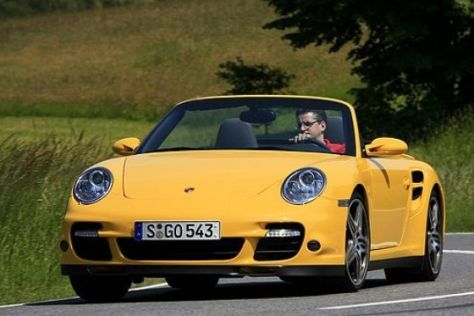 Test Porsche 911 Turbo Cabrio