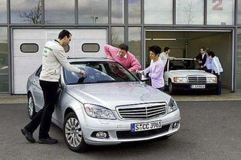 Mercedes erforscht den Fahrspaß