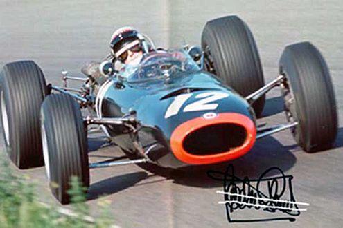 Im BRM P261 war Jackie Stewart von 1965 bis 1967 unterwegs.