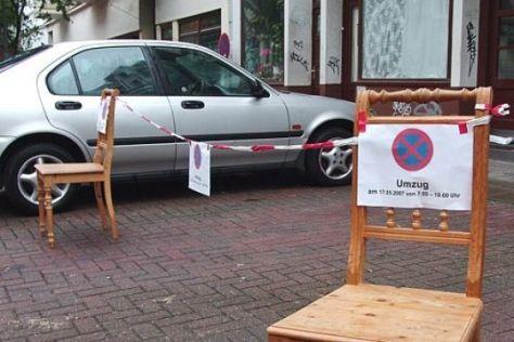 Parkraum-Reservierung