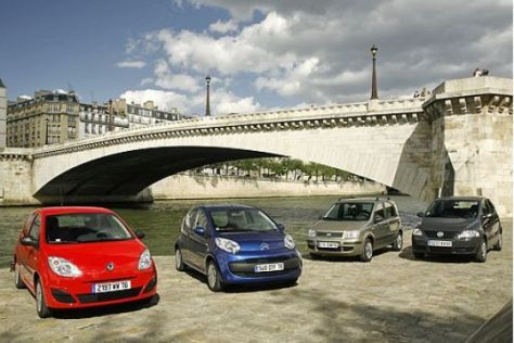 Test Twingo/C1/Panda/Fox