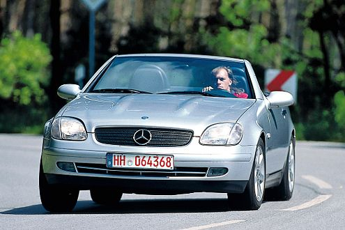 Nicht billig: Der Mercedes SLK ist erst mit hoher Laufleistung erschwinglich.
