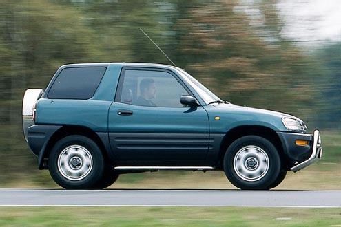 Toyota RAV 4: kaum Schwachpunkte, aber konstruktiv kein Gelände-Gänger.