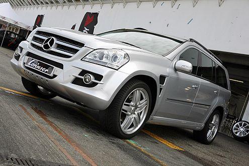 Es geht immer noch eine Schippe obendrauf: Mercedes GL von Lorinser.