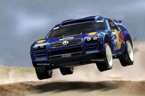 Volkswagen testet Race Touareg in Tunesien