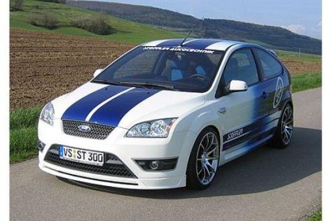 Rennsport-Look für Ford Focus II und Fiesta ST