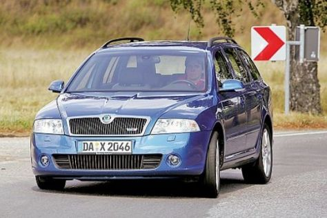 Test Skoda Octavia RS