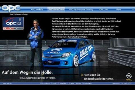 Opel OPC Homepage