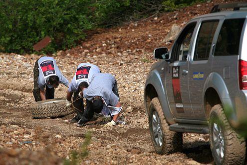 Teamwork: Mit vereinten Kräften erreichen am Ende alle das Ziel.