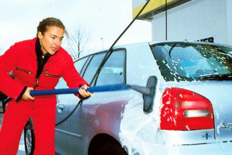Umfrage Fahrzeugpflege