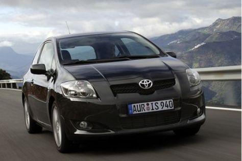 Zulassungsbilanz Toyota Auris