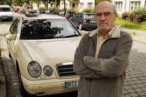 Mercedes-Aufruf an Taxifahrer