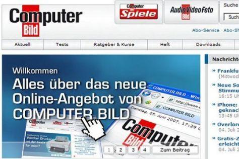 www.computerbild.de im neuen Outfit