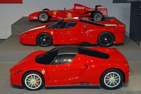 Ferrari Enzo in Leichtbau