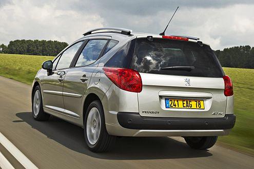 """Als """"Filou"""" mit 75-PS-Benziner gibt es den 207 SW ab 12.800 Euro."""