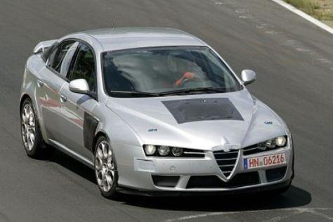 Erlkönig Alfa Romeo 159 GTA