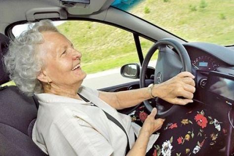 Schleuderkurs für Senioren