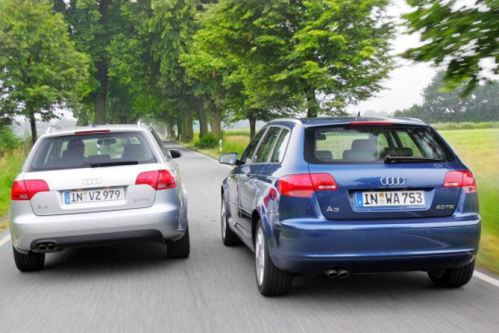 Ist Weniger Mehr Audi A Avant Gegen A Sportback Bilder - Audi a3 audi a4