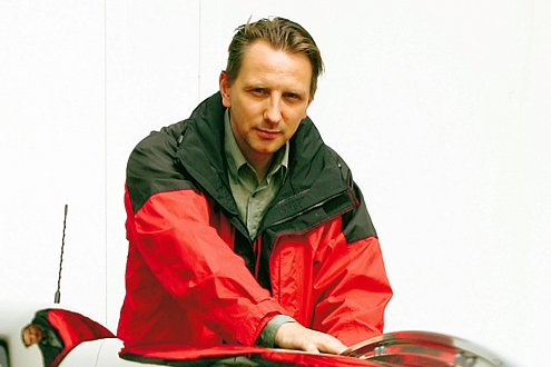 AUTO BILD-Redakteur Jan Horn