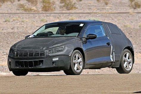 Erlkönig VW Scirocco