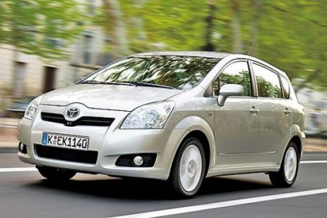 Test Toyota Corolla Verso 2.2 D-4D