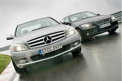Test BMW 335i/Mercedes C 350