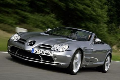 Test Mercedes SLR Roadster