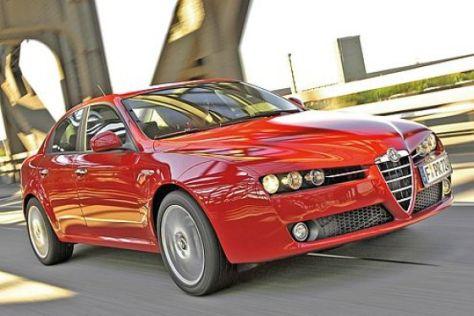 Alfa 159 mit Zusatzgarantie