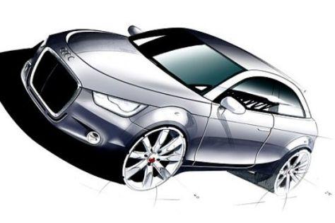 Neue Bilder vom Audi A1