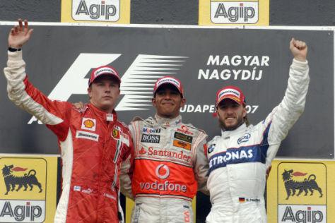 Die Sieger des Ungarn GP 2007