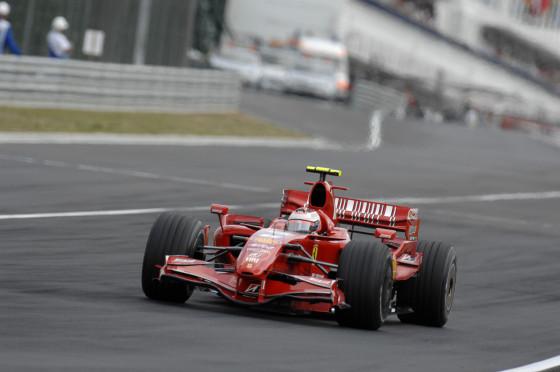 Kimi Räikkönen, Ferrari F2007