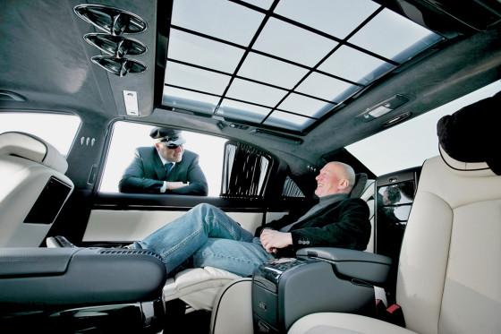 Luxuriöser geht es in Sachen Auto kaum noch: Der Maybach verwöhnt die Passagiere am meisten.