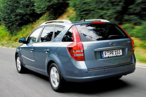 Test Kia cee'd Sporty Wagon/Kia excee'd