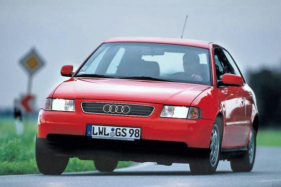 Progressiv: 1996 galt der A3 als exklusives Designerstück der Kompaktklasse.