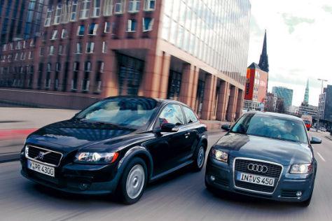 Audi A3 2.0 TDI/Volvo C30 2.0D