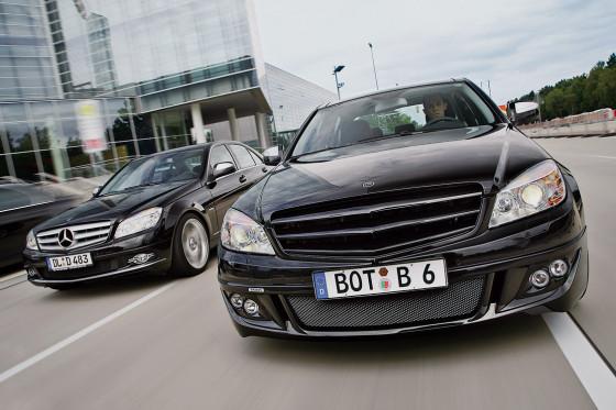 Zwei V6-Benziner mit mächtig Dampf: MKB und Brabus spendieren der C-Klasse über 300 PS.