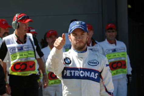 Nick Heidfeld, BMW-Sauber F1-Team