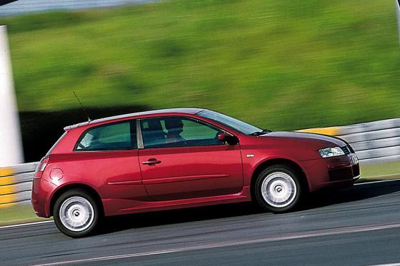 Nicht wirklich sportlich: der Fiat Stilo Abarth.