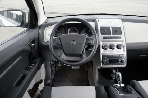 Voller pfiffiger Details: der variable Innenraum des Dodge Jorney.