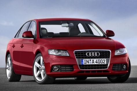 Erste Fotos vom neuen Audi A4