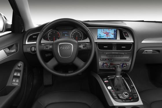Stark zugelegt: Im Innenraum bietet die neue Ingolstädter Limousine viel Platz und gewohnt edles Ambiente.