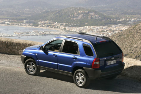 Kia-SUV aus Zilina