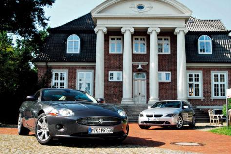 Vergleich BMW 630i/Jaguar XK 3.5 V8