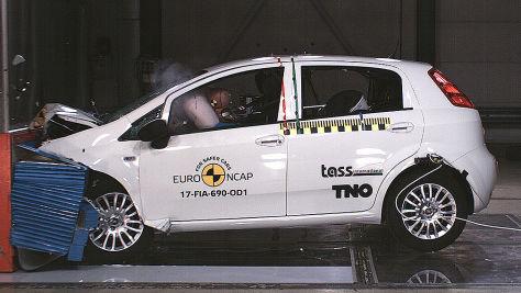 Euro NCAP 2017: Tops und Flops im Crashtest