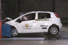 Crashtest von Euro NCAP