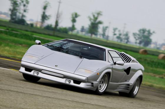 Ein Auto wie ein Paukenschlag: Der Lamborghini Countach erschütterte die Welt der Supersportler.