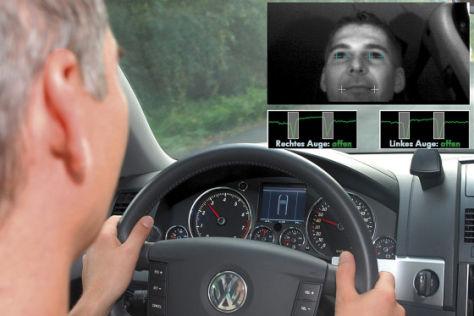 Fahrassistenzsystem von VW